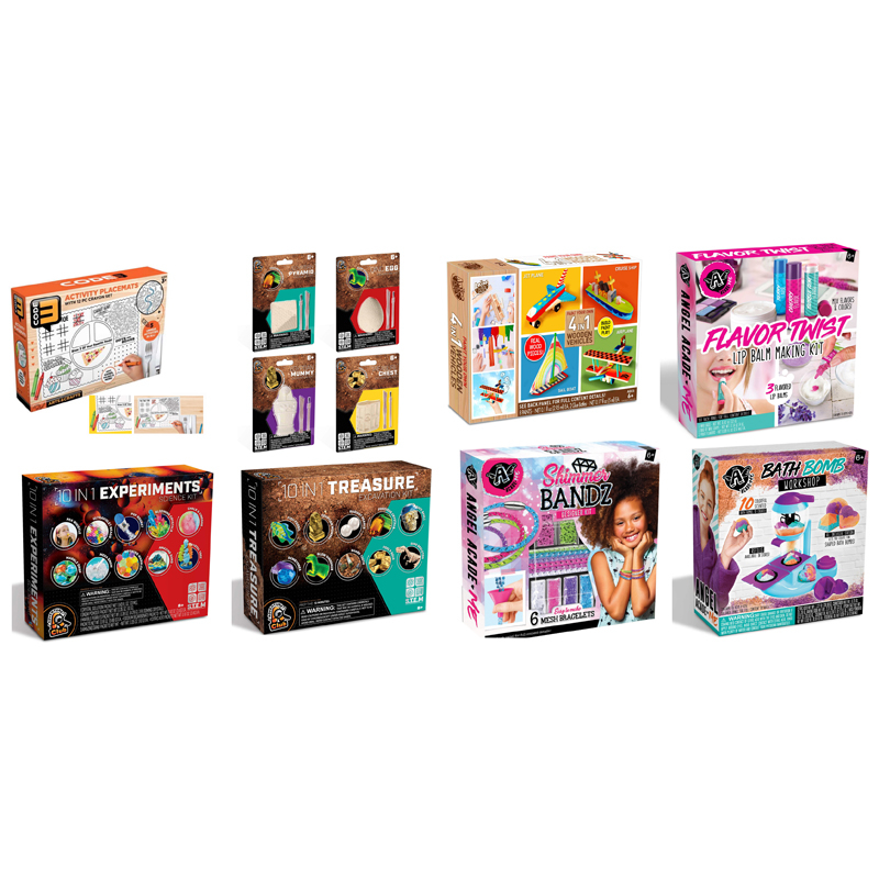 2020 Product Booking - At Home Activity Books Crafts Toys
