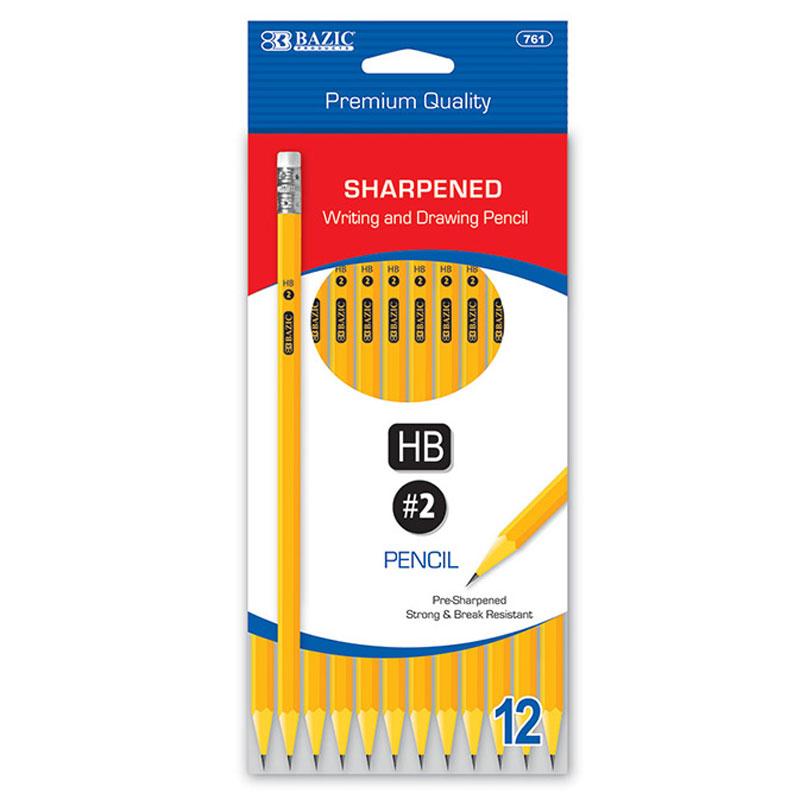 pencil pre sharpened pencil 12ct watkins online
