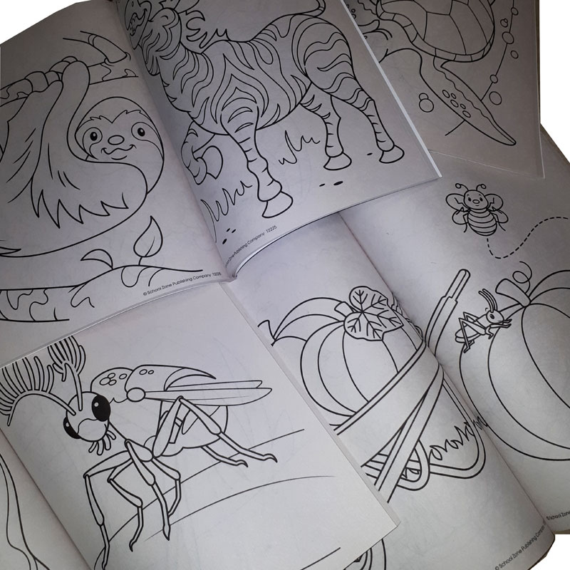 1 Coloring Book Activity Book Preschool - Gr 1 - Watkins ...